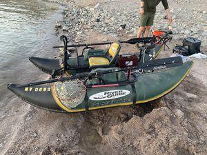 Water skeeter bass guide fishing pontoon for Sale in Henderson, NV