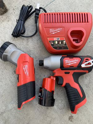 M12 Milwaukee tools read post for Sale in Los Angeles, CA