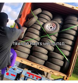 "14"", 15"", 16"", 17.5"" Trailer Tire and Wheel combos best price for Sale in Huntsville, TX"