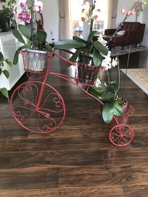 Bicycle stand plant for Sale in Purcellville, VA
