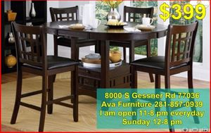 5 pieces dining room table set $399 for Sale in Houston, TX