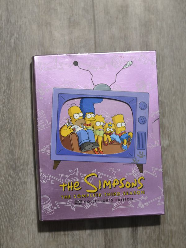The Simpsons Complete Third Season - Entact - Banned Stark Raving Dad Episode