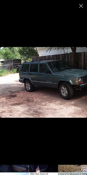 2000 jeep xj for Sale in Colorado Springs, CO