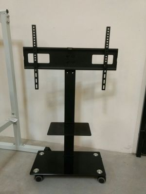 Brand new in box TV stand on wheels universal fits 32 to 65 Inch TV sizes flat screen LCD plasma for Sale in Los Angeles, CA