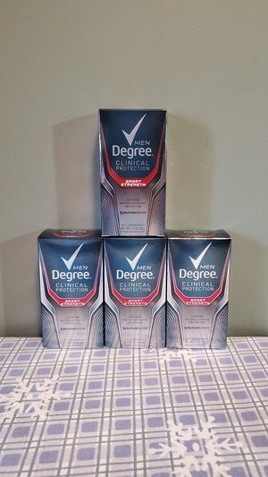 Men degree clinical protection sport strength for Sale in Attleboro, MA