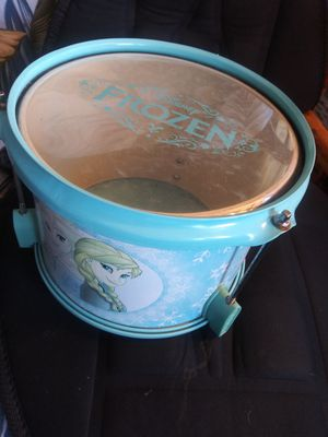 First Act Disney's Frozen sister's drum for Sale in Edgewood, WA