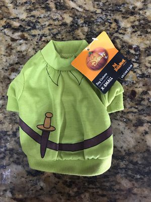 Disney Peter Pan dog XS Halloween costume for Sale in Hialeah, FL