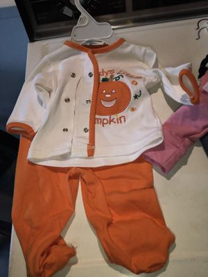 Baby brand new clothes A dollar each piece I also have garbage bags full of boys and girls use clothes in good condition and they will be $.50 each I for Sale in Lincoln Park, MI