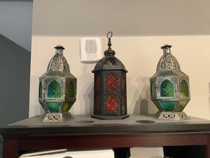 Three decorative Moroccan lamps for Sale in Washington, DC