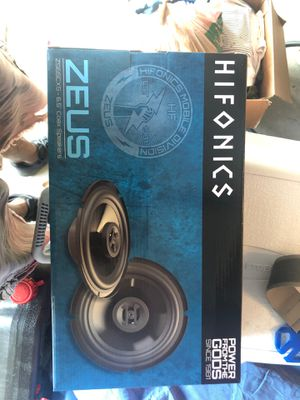 New hifonics 6.5 inch speakers for Sale in Clarksburg, MD