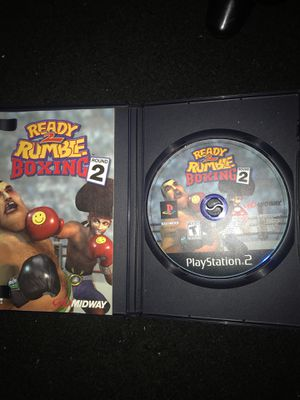 Ready 2 rumble ps2 game for Sale in Washington, DC