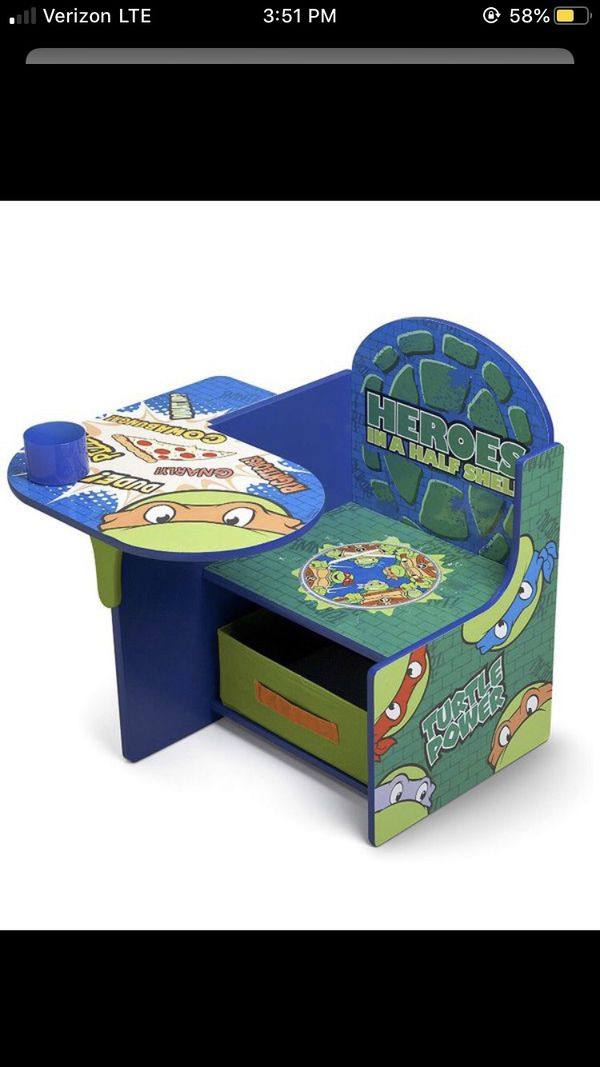 Ninja Turtles desk chair