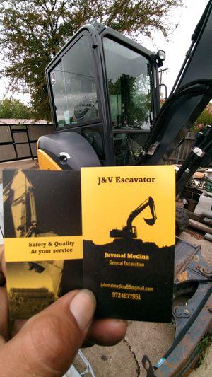 Mini excavator for Sale in Duncanville, TX
