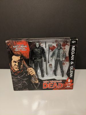 MCFARLANE TOYS THE WALKING DEAD NEGAN AND GLENN EXCLUSIVE FIGURE TWO PACK for Sale in Rancho Cucamonga, CA