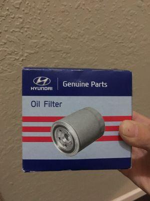 hyundai oil filter for Sale in Miramar, FL