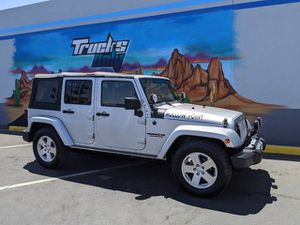 2009 Jeep Wrangler Unlimited for Sale in Mesa, AZ