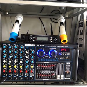 Wireless Microphones And Mixing Amplifier for Sale in Huntington Beach, CA