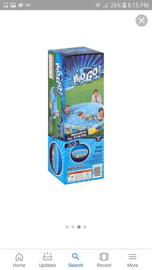 "BRAND NEW H20GO! DINOSAUR FILL 'N FUN SWIMMING POOL 72""×15"" FIRM $25 EACH for Sale in Riverside, CA"