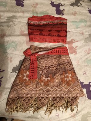 Moana costume M girls for Sale in Los Angeles, CA