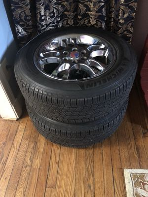 18 rims and tires for Sale in Washington, DC