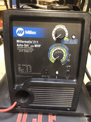 Miller 211 MIG welder new condition and Miller 875 Plasma cutter new condition for Sale in Rosemead, CA