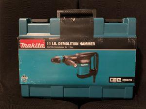 Makita 11 LB Demolition Hammer with Case - Masonry Tool for Sale in Lansdowne, VA