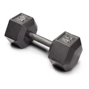 45 lbs pair Weider Cast Iron Dumbbell - Knurled Grip and Hex Design for Sale in Los Angeles, CA