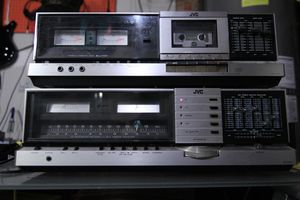 JVC JR-S201 & KD-S201 Stereo Receiver/Tape Deck (pair) for Sale in Woodway, WA