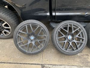Bmw M wheels 19 front 19.5 rear for Sale in New York, NY