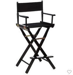 New Portable Bar Height Directors Chair for Sale in Santa Clarita,  CA