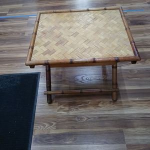 Foldable Japanies Bamboo table in mint condition for Sale in Great Neck, NY