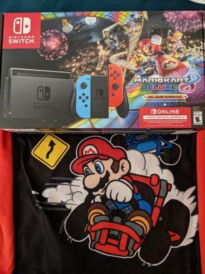Brand New Nintendo Switch Console Mario Kart Bundle for Sale in Phoenix, AZ
