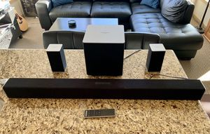 Vizio Sound Bar With wireless connecting Sub Woofer for Sale in Seattle, WA