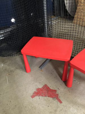 Kid tables and chair for Sale in Carrollton, TX