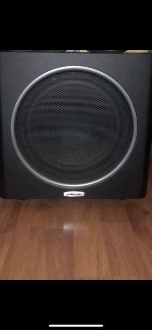 Polk audio 12 inch subwoofer for Sale in Corona, CA