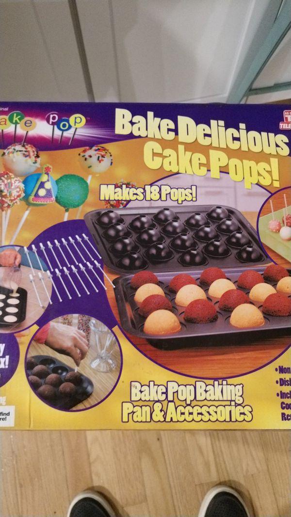 Pretzelmaker and cake pop maker