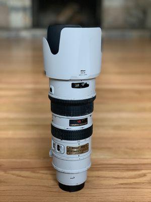 Nikon 70-200mm f2.8 for Sale in Seattle, WA