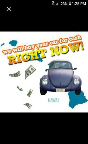 Get cash for unwanted Vehicles up to 500 for Sale in Hyattsville, MD