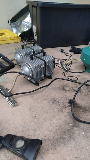 Various used hydroponics equipment, no lights. for Sale in Hollywood, FL