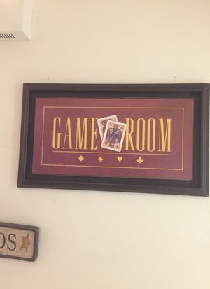 Decorative vintage game room art for Sale in Arlington, VA