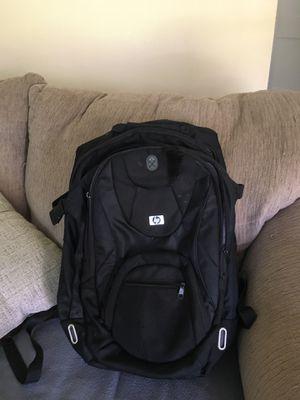 HP computer backpack w/ laptop locks for Sale in Roanoke, VA