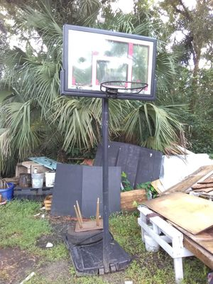 Basketball hoop W base no net for Sale in Tampa, FL
