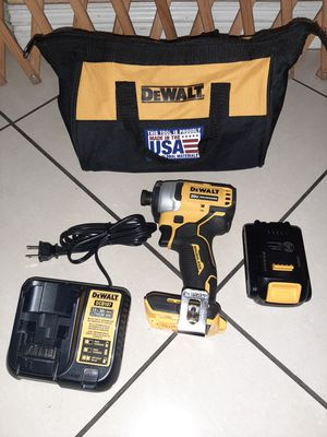 Dewalt 20v brushless Atomic impact price is firm no lowballers no trades for Sale in Fontana, CA