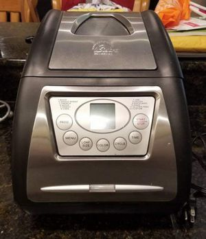 MUST SELL!! Wolfgang Puck Bistro Bread Maker for Sale in Thonotosassa, FL