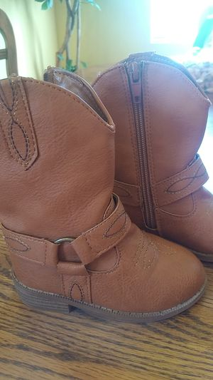Toddler western girl boots for Sale in Salinas, CA
