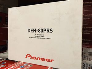 Pioneer DEH-80PRS CD Receiver with 3-Way Active Crossover Network, Auto EQ, and Auto Time Alignment for Sale in Hawthorne, CA