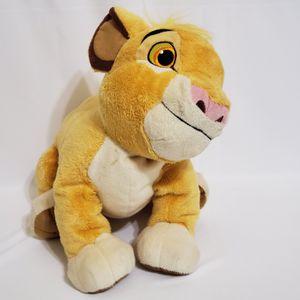 "Simba Lion King Stuffed Animal Plush Toy - Authentic Disney Store Original 12"" for Sale in La Grange Park, IL"