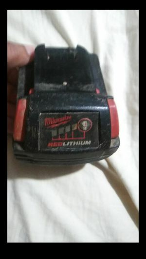 Milwaukee M18 Red Lithium Ion Battery for Sale in Lithonia, GA