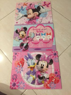 Kids toys Disney wood puzzles kids(ca91731) for Sale in South El Monte, CA