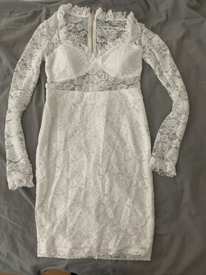 White dress. Size L for Sale in The Bronx, NY